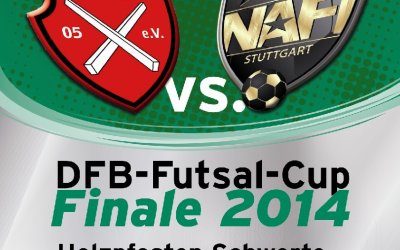 DFB Futsal Cup 2014: Finale am 5. April