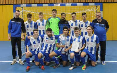 TSG Sprockhövel gewinnt A-Junioren Futsal-Regionalmeisterschaft West 2020